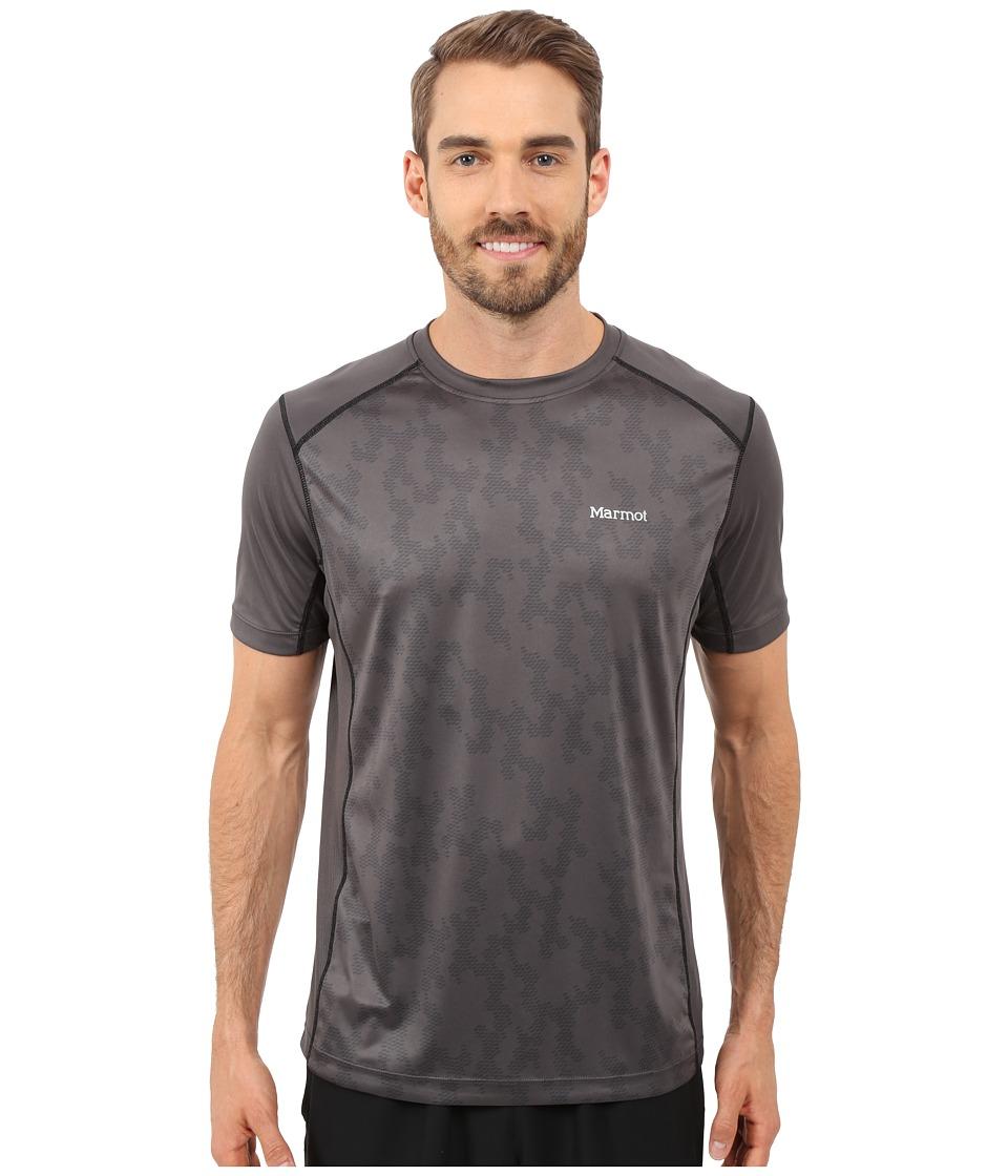 Marmot Elevate Short Sleeve Slate Grey Mens Short Sleeve Pullover
