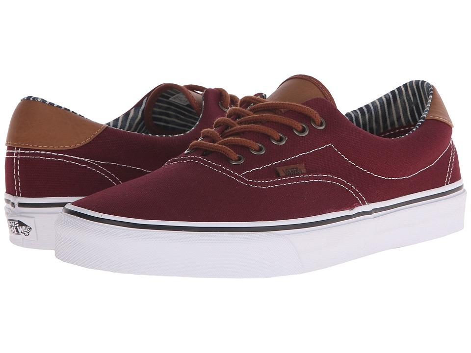 Vans Era 59 CampL Port Royal/Stripe Denim Skate Shoes