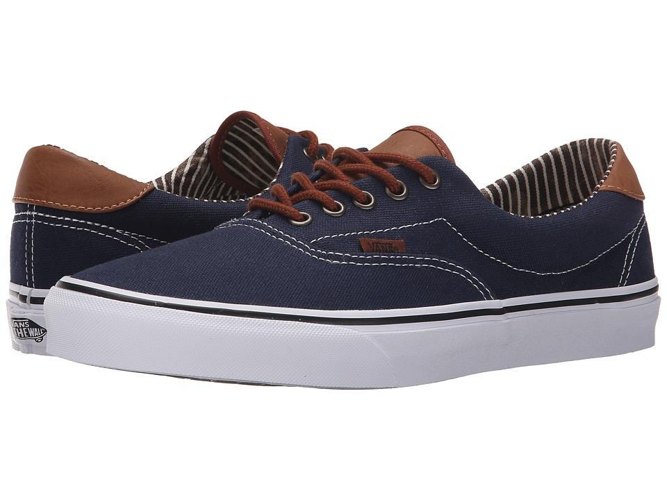 Vans Era 59 CampL Dress Blues/Stripe Denim Skate Shoes
