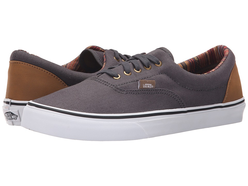 Vans Era Indo Pacific Dark Shadow/True White Skate Shoes