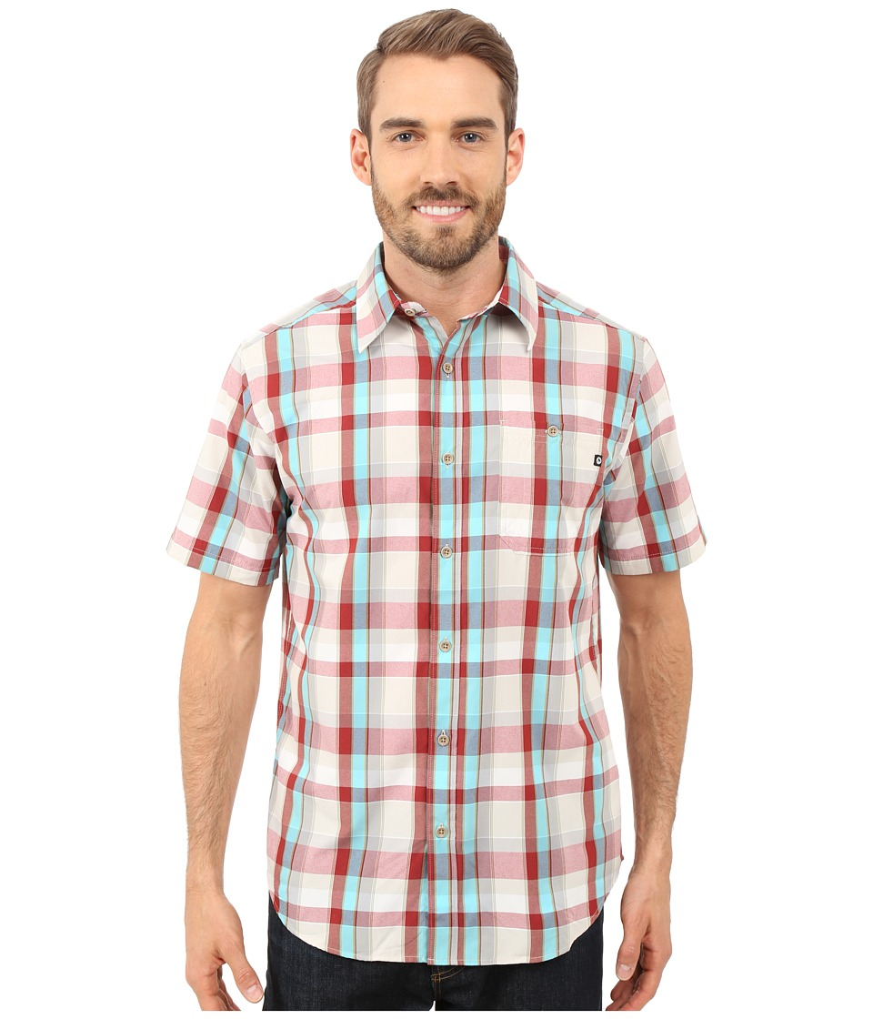 Marmot Asheboro Short Sleeve Redstone Mens Short Sleeve Button Up