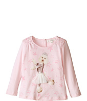 Pumpkin Patch Kids - Dance Academy Poodle Print Top (Infant/Toddler/Little Kids)