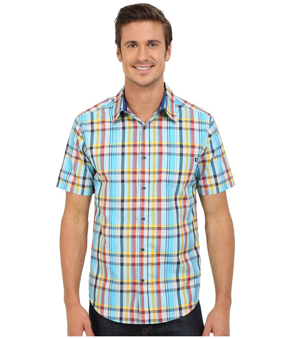 Marmot Dobson S/S Dark Indigo Mens Short Sleeve Button Up