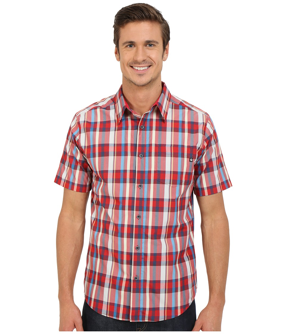Marmot Dobson S/S Redstone Mens Short Sleeve Button Up