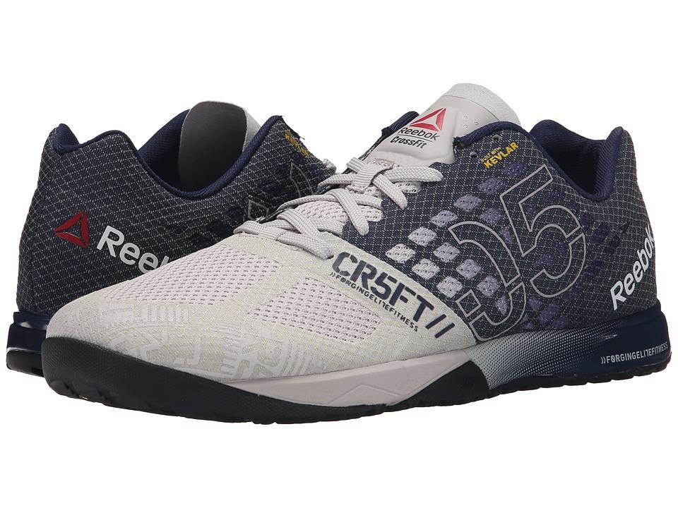 Reebok - CrossFit Nano 5.0 (Steel/Collegiate Navy/Tin Grey/Black/Shark) Men