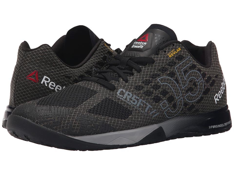 Reebok - CrossFit Nano 5.0 (Black/Alloy/Tin Grey/Shark) Men