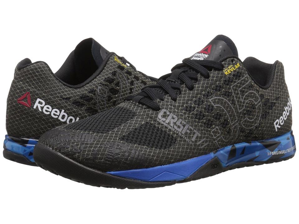 Reebok - CrossFit Nano 5.0 (Black/Blue Sport/Electric Blue/Shark) Men