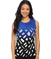 Calvin Klein - Abstract Illusion Pleat Neck Cami