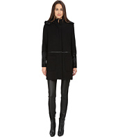 ZAC Zac Posen - Parker Mixed Media Wool Coat