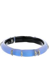 Alexis Bittar - Liquid Stripe w/ Crystal Accents Hinge Bracelet