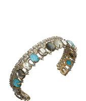 Alexis Bittar - Crystal Lace Cuff w/ Custom Cut Stones Bracelet