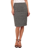 Calvin Klein - Striped Novelty Straight Skirt