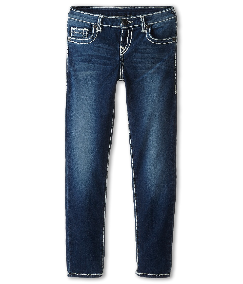 True Religion Kids - Casey Skinny Natural Super T in Ancient (Big Kids) (Ancient) Girls Jeans