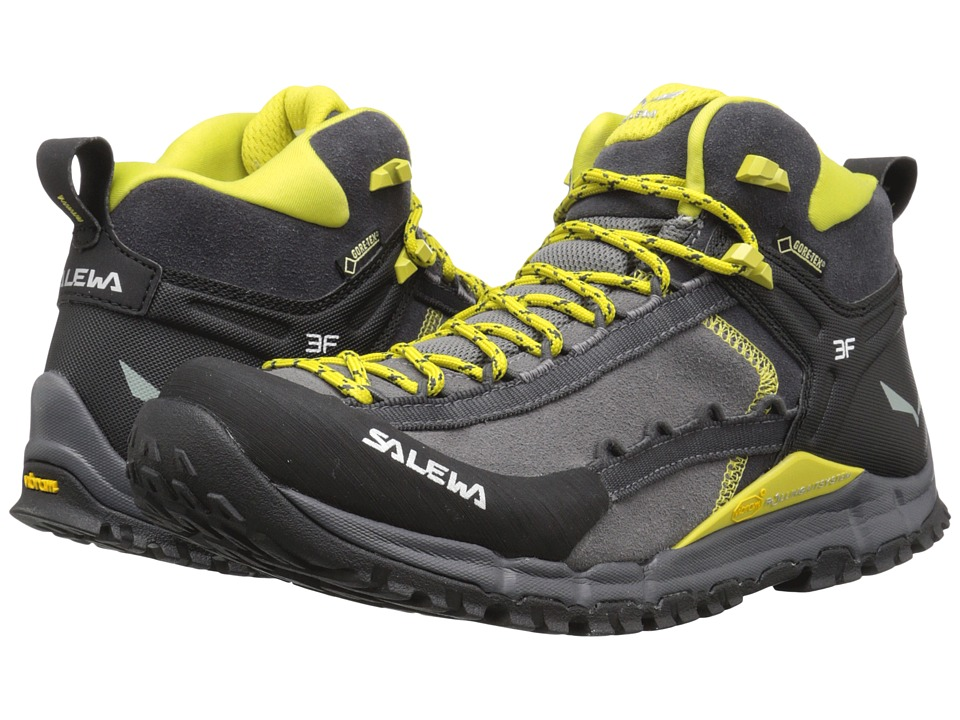 SALEWA Hike Roller Mid GTX Pewter/Kamille Mens Shoes