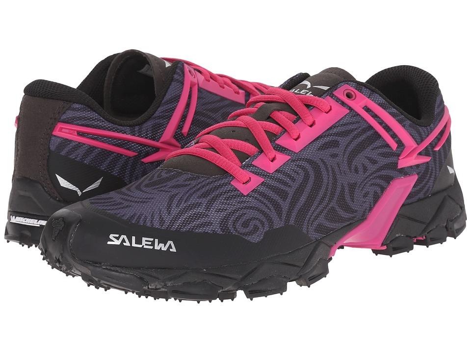 SALEWA Lite Train Black/Pinky Womens Shoes