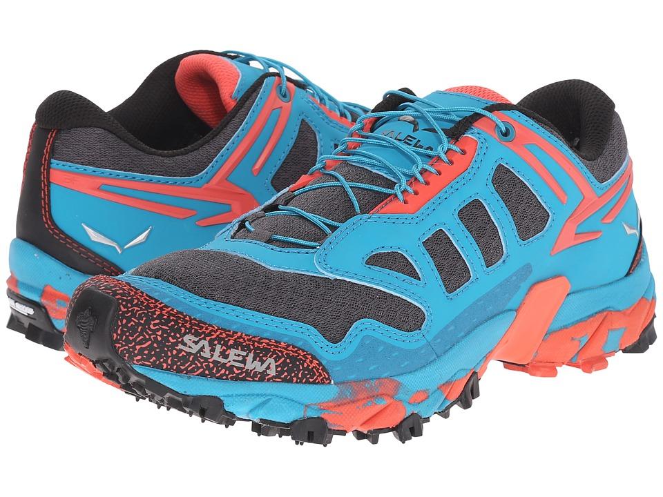 SALEWA - Ultra Train (Magnet/Hot Coral) Womens Shoes