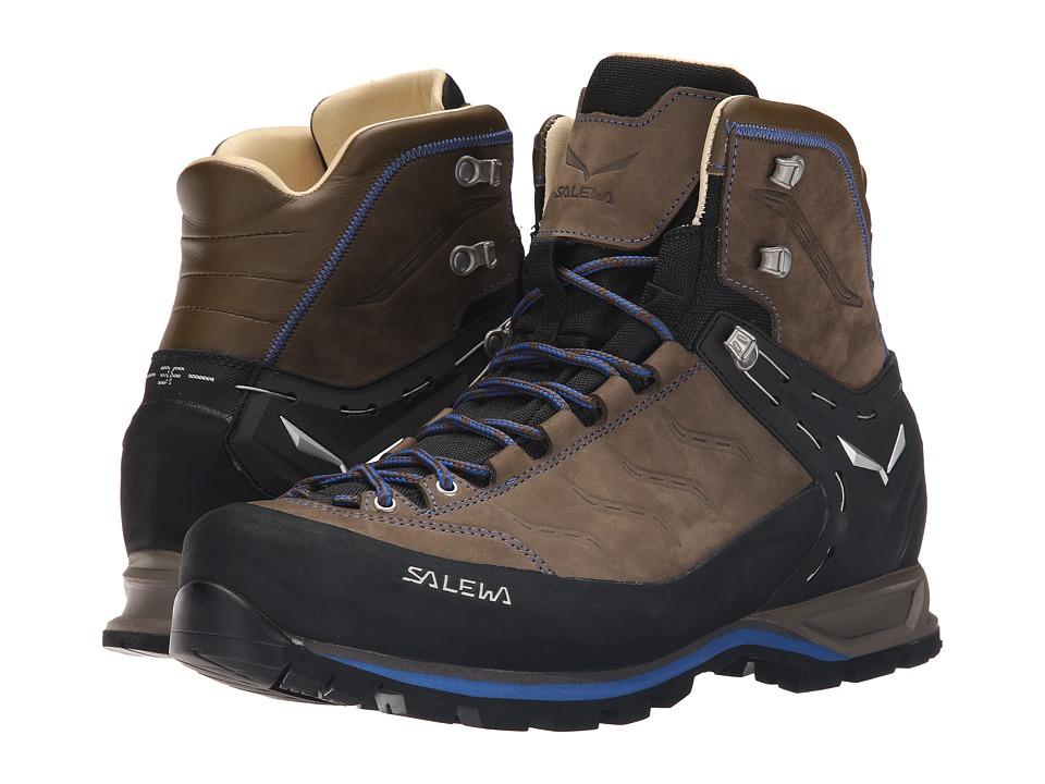 SALEWA - Mountain Trainer Mid L (Walnut/Royal Blue) Mens Shoes