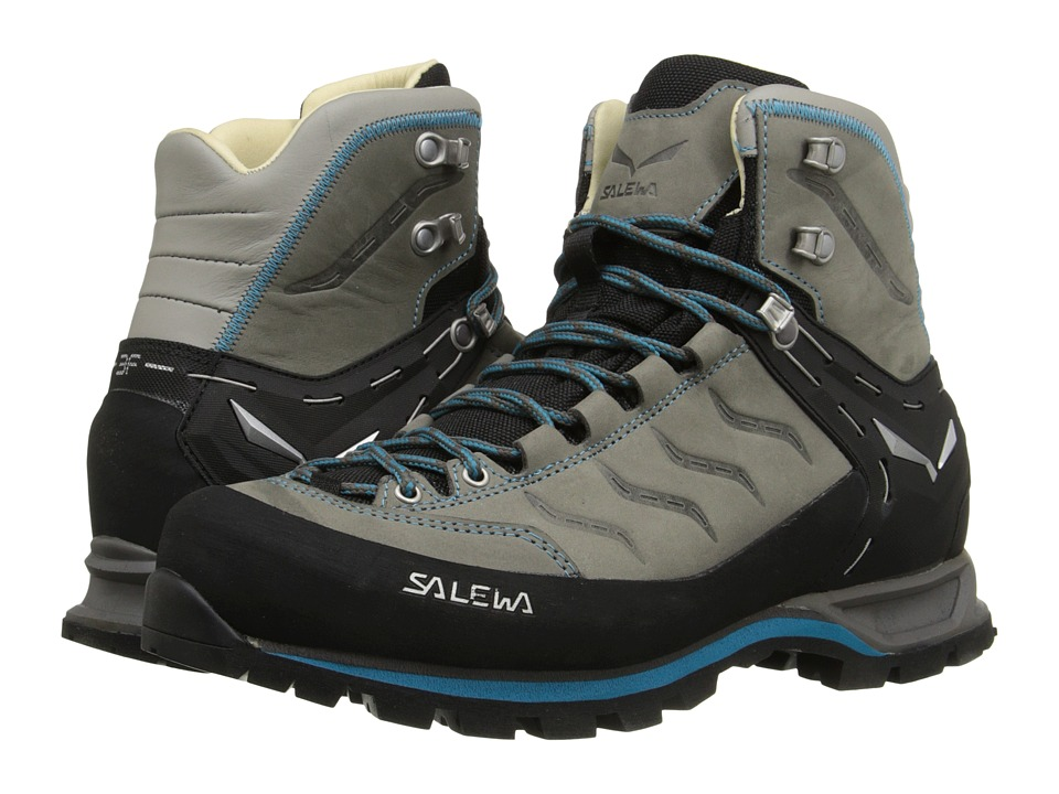 SALEWA - Mountain Trainer Mid L (Pewter/Ocean) Womens Shoes