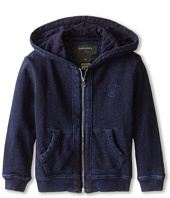 True Religion Kids - French Terry Hoodie Midnight Stitching (Toddler/Little Kids)
