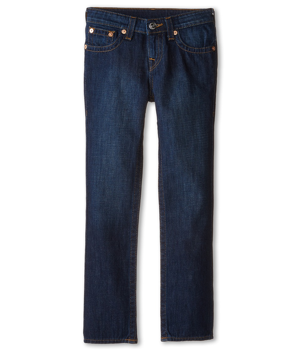 True Religion Kids - Geno Relaxed Slim Vintage Gold Single End Classic in Antique