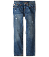 True Religion Kids - Geno Relaxed Slim Vintage Gold Single End Classic in Crown Blue (Big Kids)