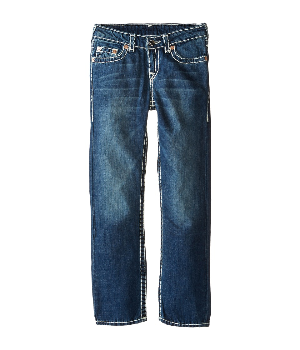True Religion Kids Ricky Straight Fit Natural Super T in Altitude Big Kids Altitude Boys Jeans