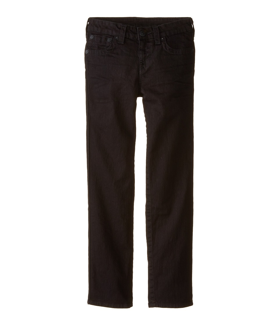 True Religion Kids Superfly Geno Single End Class Sulfur Black Stretch in Superfly Wash Big Kids Superfly Wash Boys Jeans