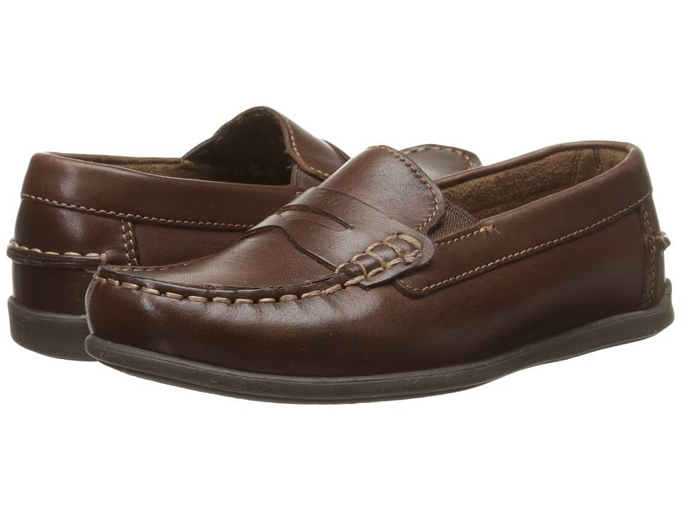 Florsheim Kids - Jasper Driver Jr. (Toddler/Little Kid/Big Kid) (Brown) Boys Shoes