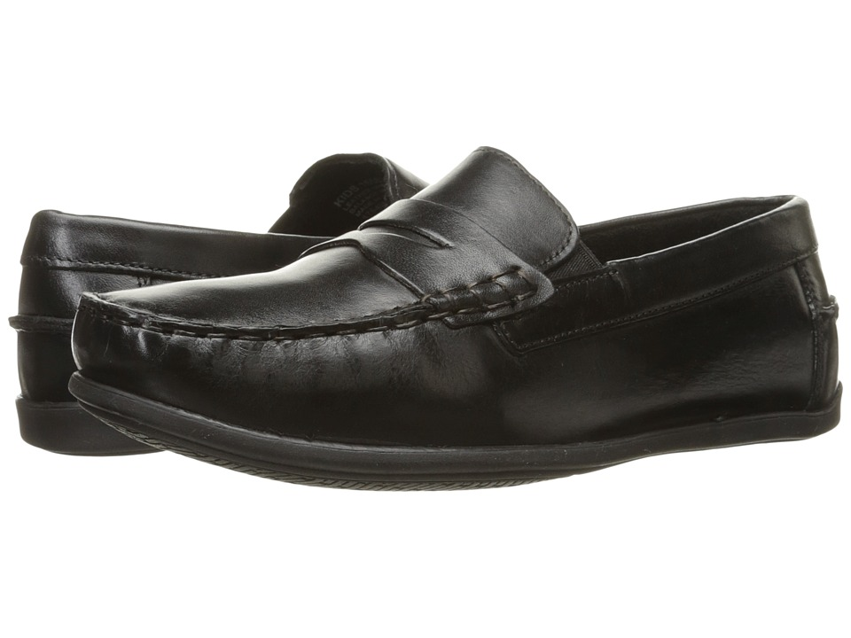 Florsheim Kids Jasper Driver Jr. Toddler/Little Kid/Big Kid Black Boys Shoes