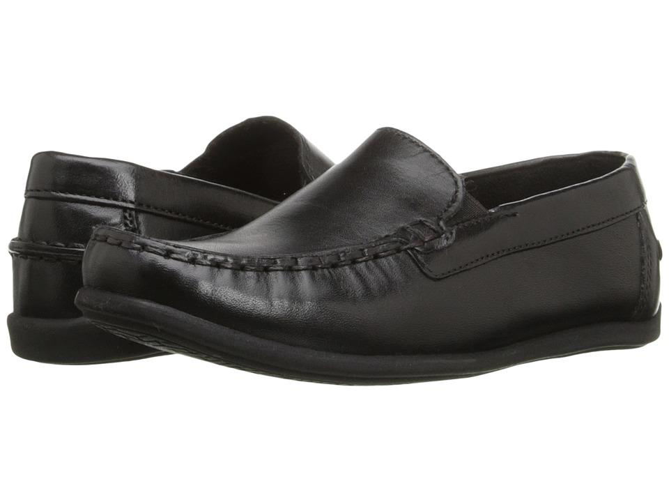 Florsheim Kids - Jasper Venetian Jr. (Toddler/Little Kid/Big Kid) (Black) Boys Shoes