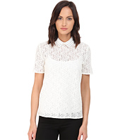 The Kooples - Lace and Eyelets Top
