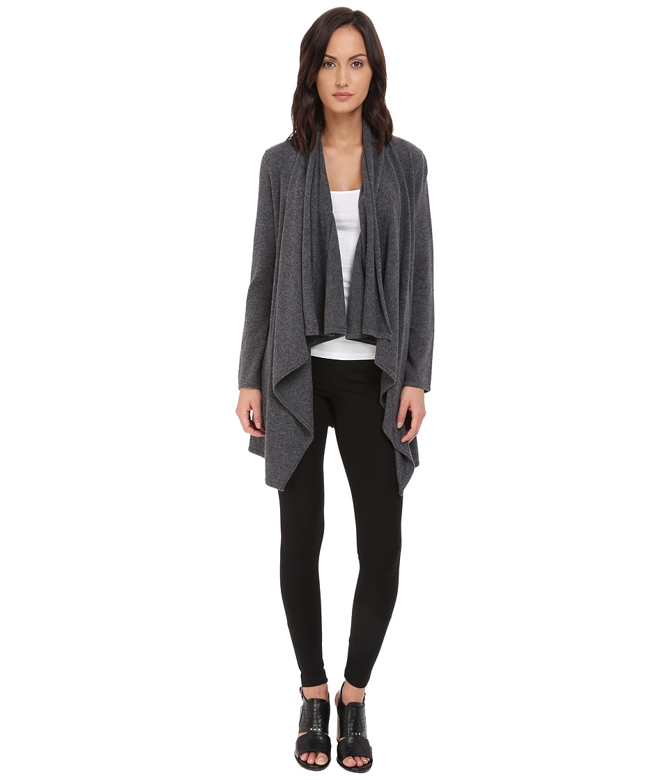 The Kooples Cashmere Wool Cardigan Grey Womens Sweater