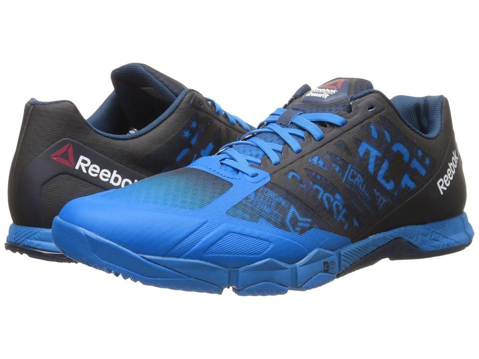 Reebok CrossFit Hit TR 1.0 Blue Sport/Collegiate Navy/Black Mens Cross Training Shoes
