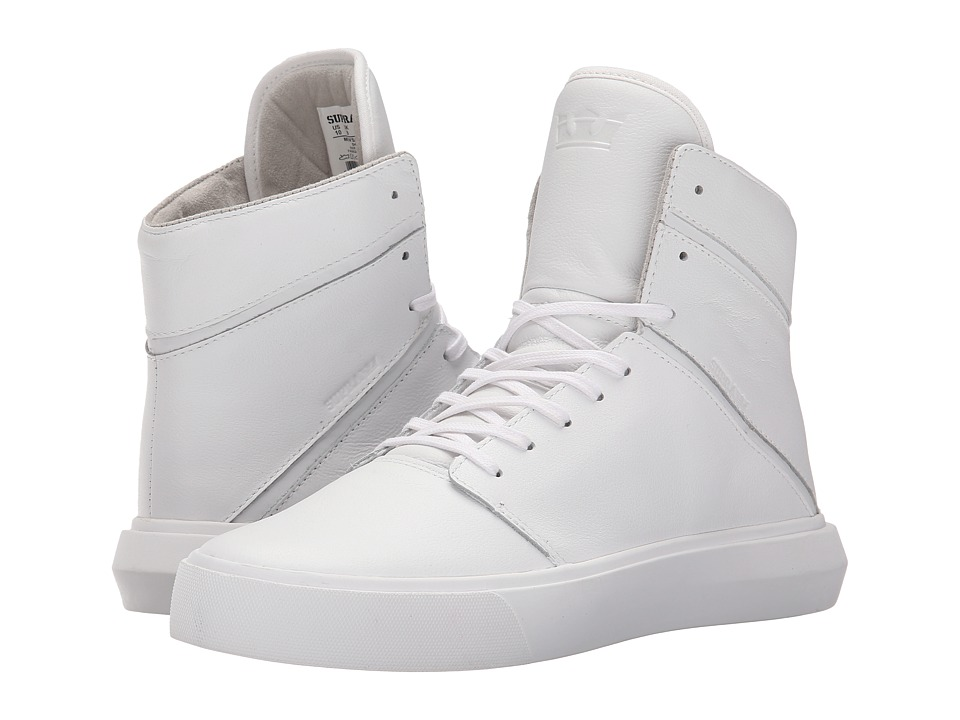 Supra Camino White/White Mens Skate Shoes