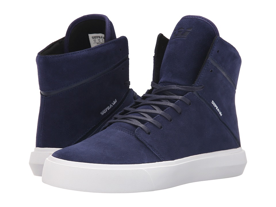 Supra Camino Navy/White Mens Skate Shoes