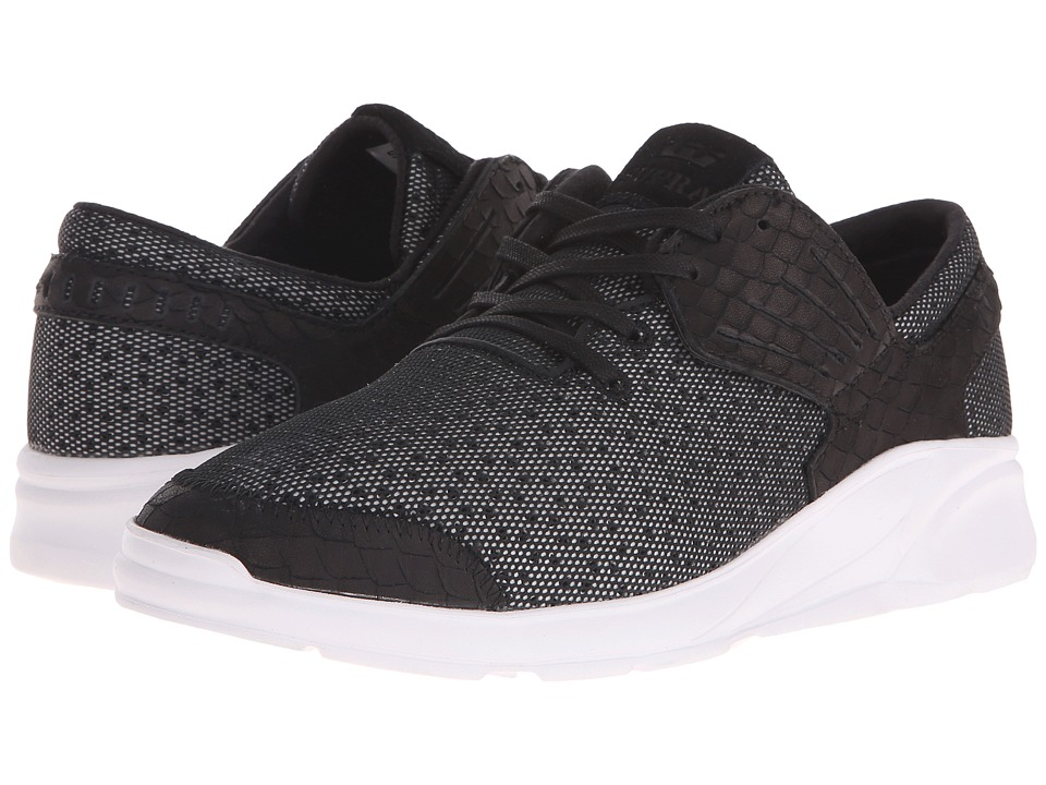 Supra Motion Black/White Mens Skate Shoes