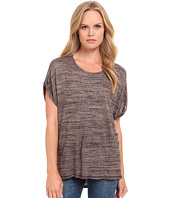 Three Dots - Rolled Sleeve Tee