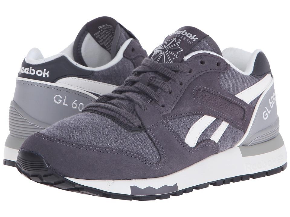 Reebok Lifestyle - GL 6000 Jersey (Ash Grey/Tin Grey/Chalk/Black) Womens Classic Shoes