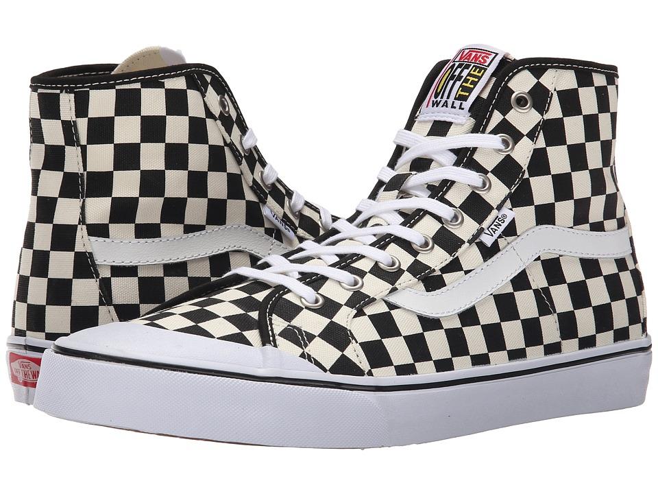 Vans - Black Ball Hi SF ((Checkerboard) Black/White) Mens Shoes