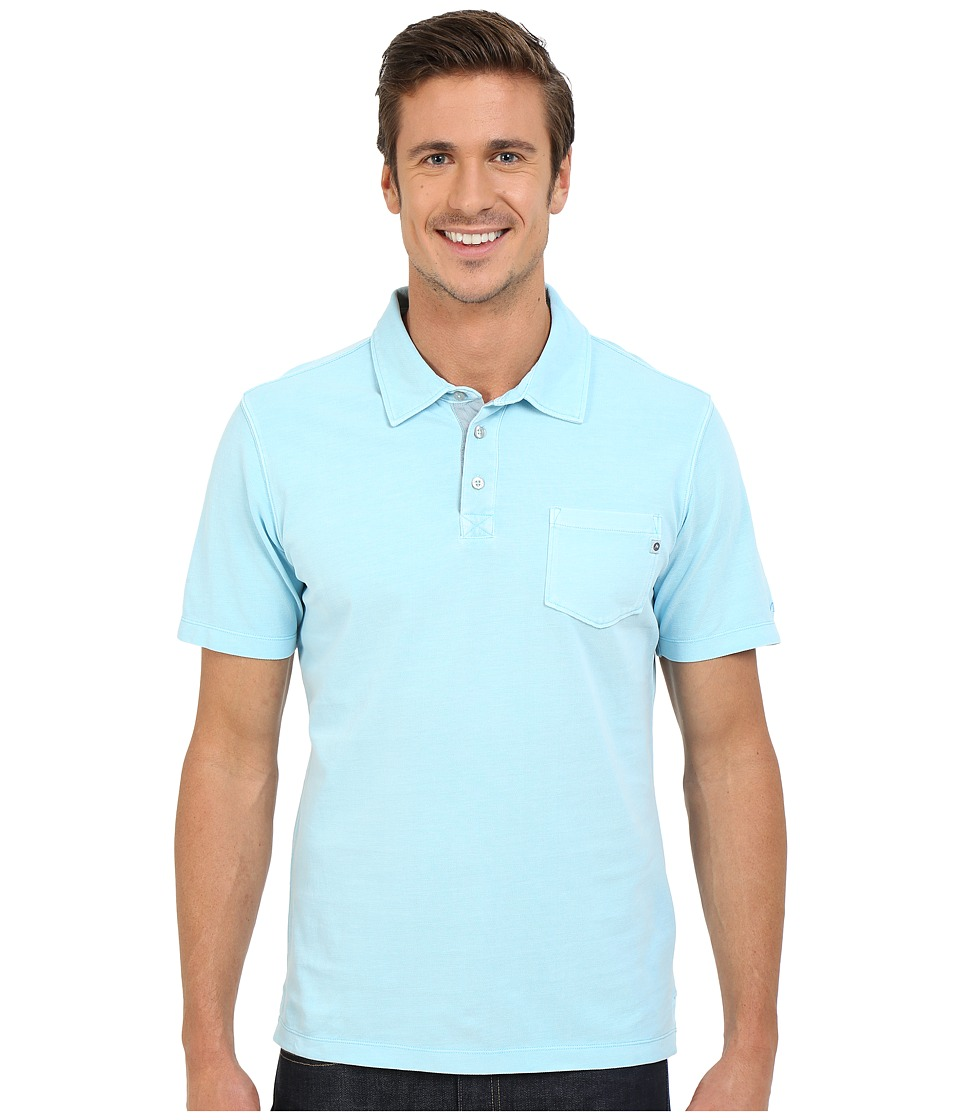 Marmot Carson Polo Air Blue Mens Clothing