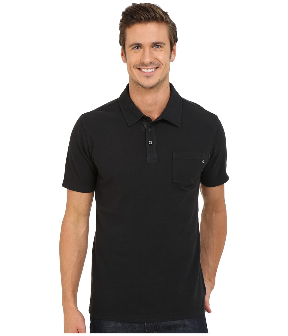 Marmot Carson Polo Black Mens Clothing