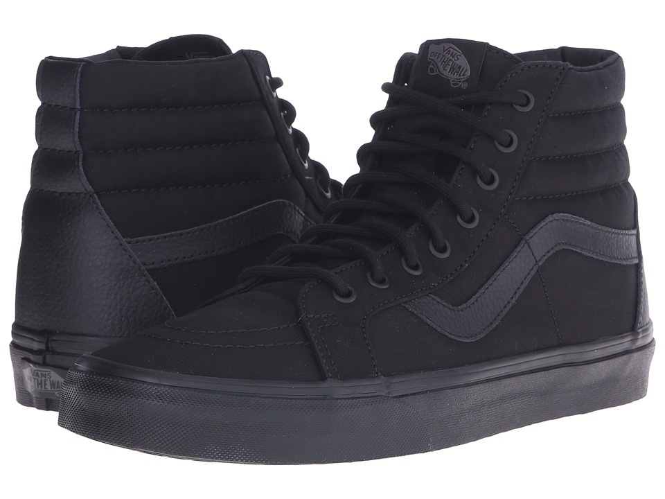 Vans SK8 Hi Reissue Mono TampL Black Skate Shoes