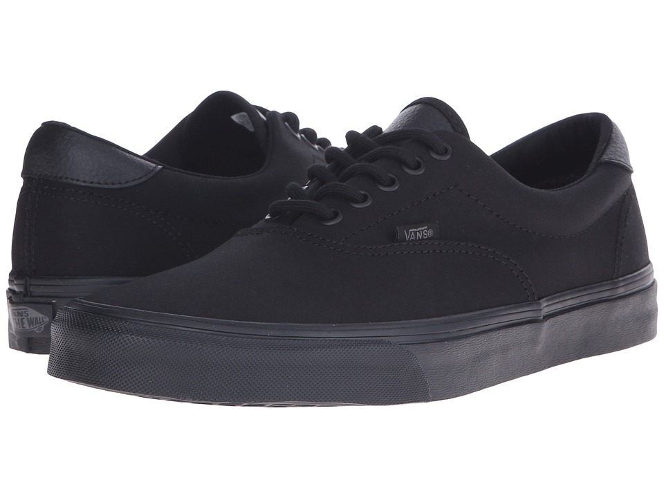 Vans Era 59 ((Mono T&L) Black) Skate Shoes