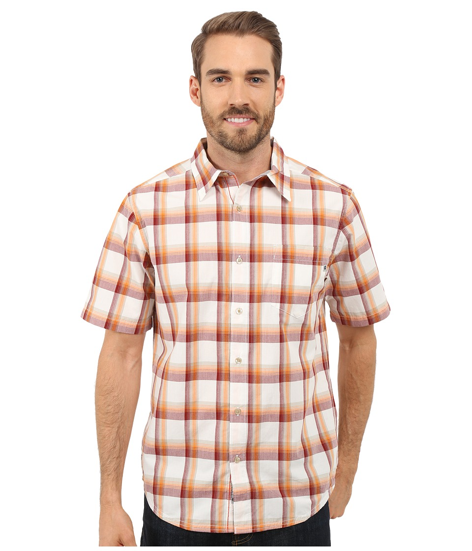 Marmot Cordero Short Sleeve Redstone Mens Short Sleeve Button Up