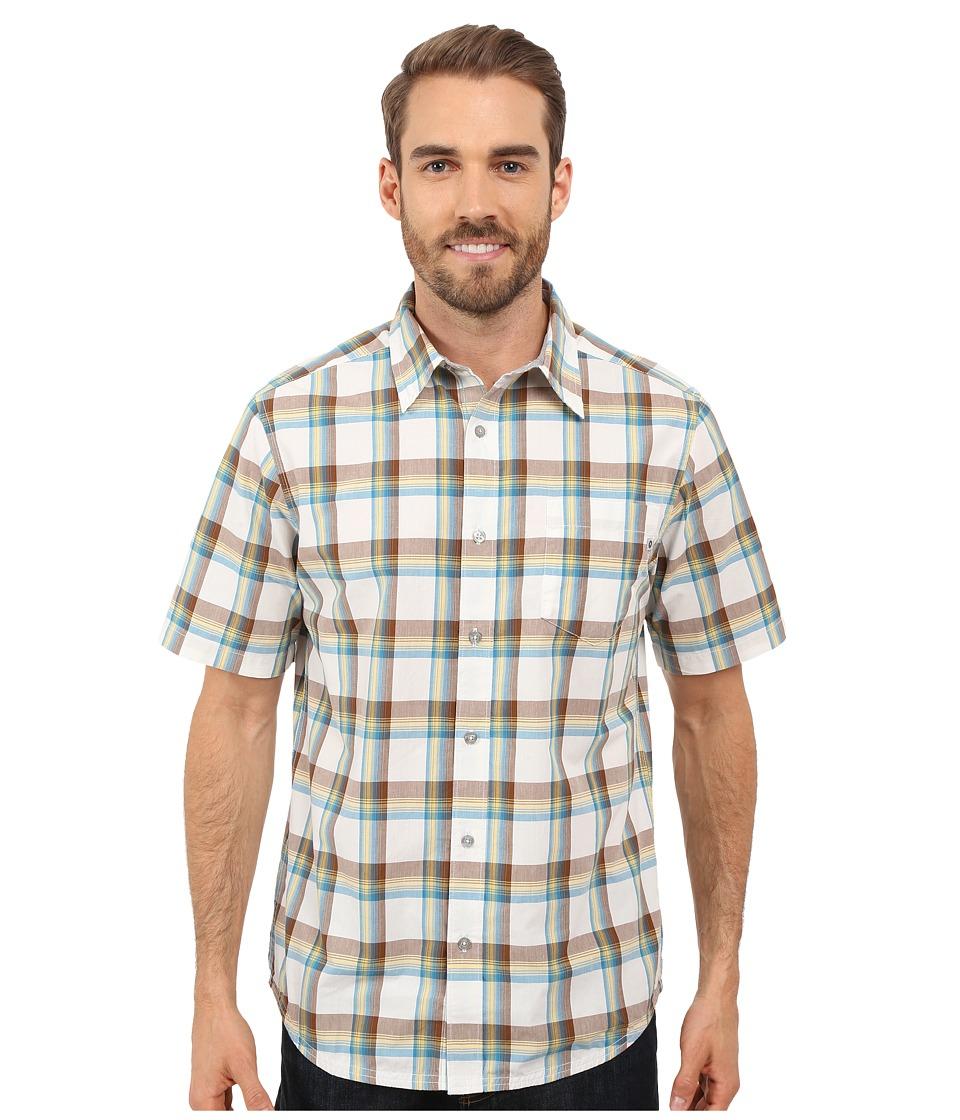 Marmot Cordero Short Sleeve Calvary Brown Mens Short Sleeve Button Up