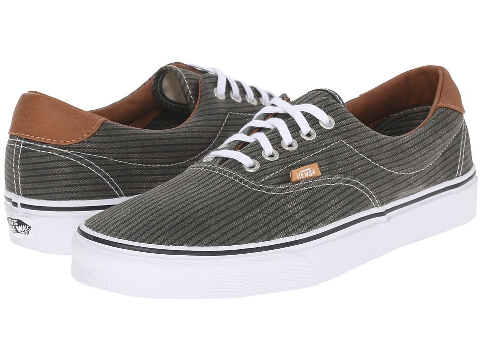 Vans Era 59 Washed Herringbone Grape Leaf Skate Shoes