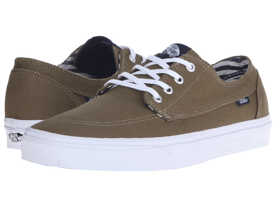 Vans Brigata ((Deck Club) Covert Green) Skate Shoes