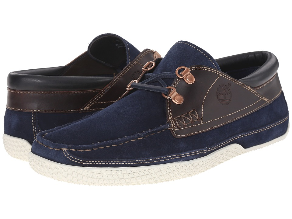 Timberland Camp 73 Camp Moc Navy Mens Lace up casual Shoes