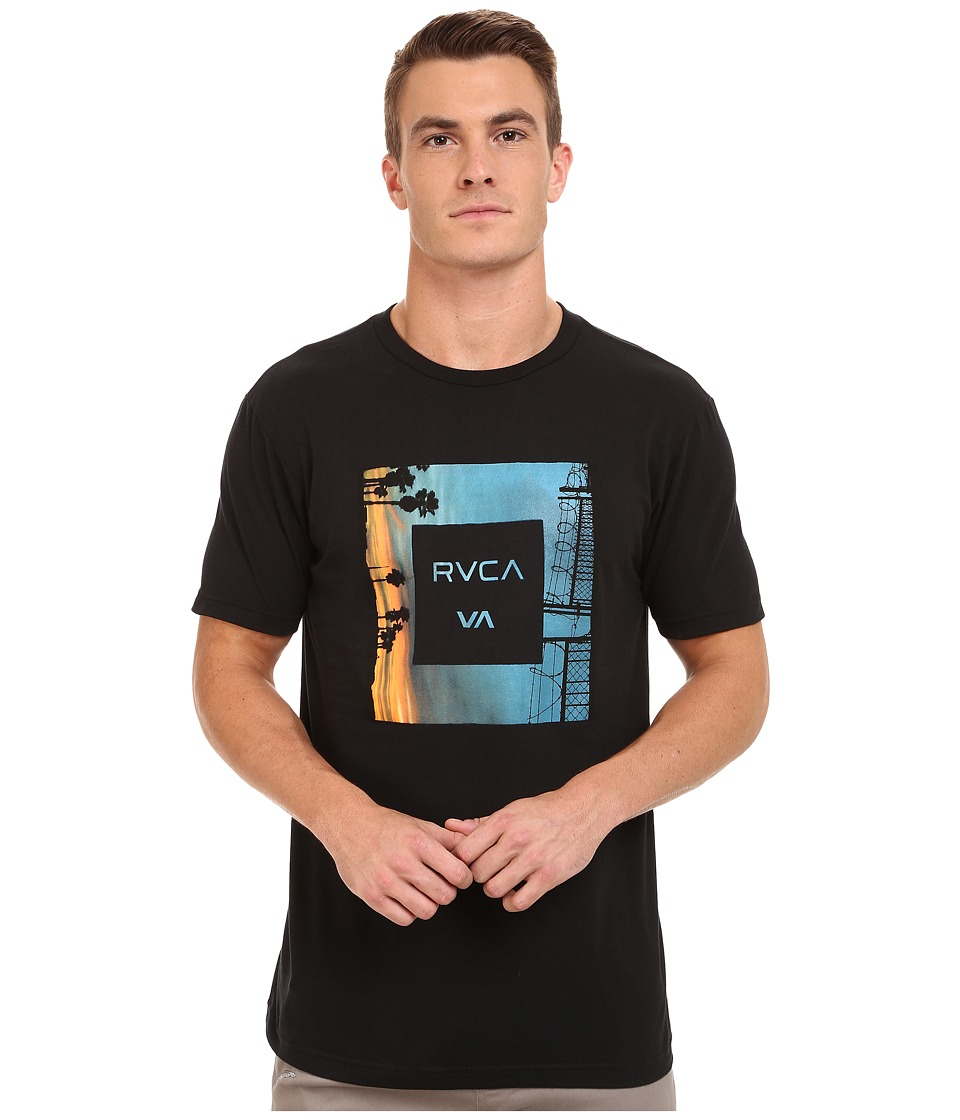 RVCA - Skyline 2 Tee (Black) Men