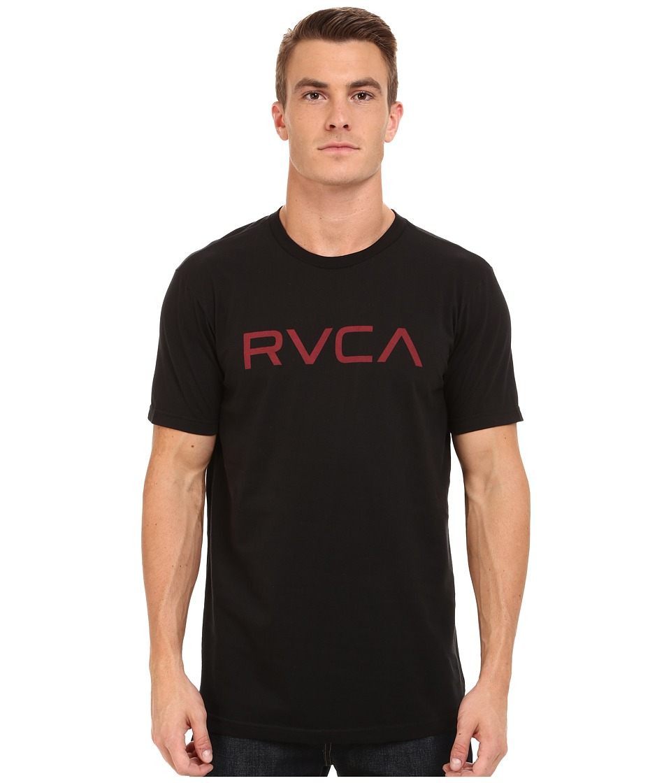 RVCA - Big RVCA Tee (Black 4) Men